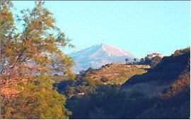 Scaleta: View of the Ida mountains