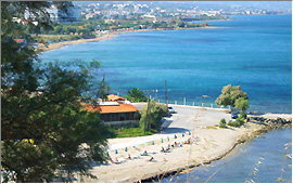 Scaleta: View over the beaches